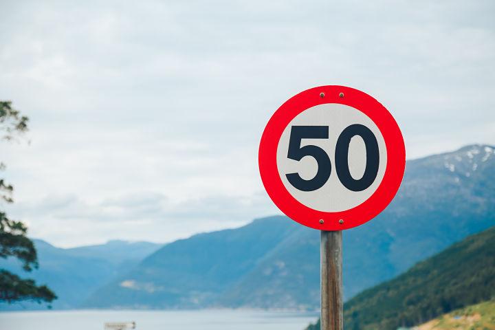 regla del siete para evitar multas