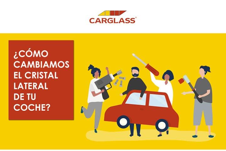 Cambiar/sustituir el cristal lateral del coche
