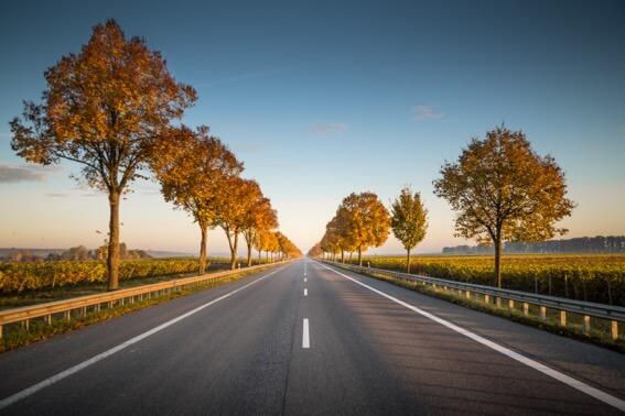 la hipnosis de la carretera
