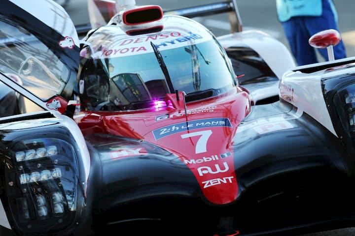 Parabrisas diferente Le Mans