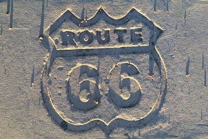 La ruta 66 en coche