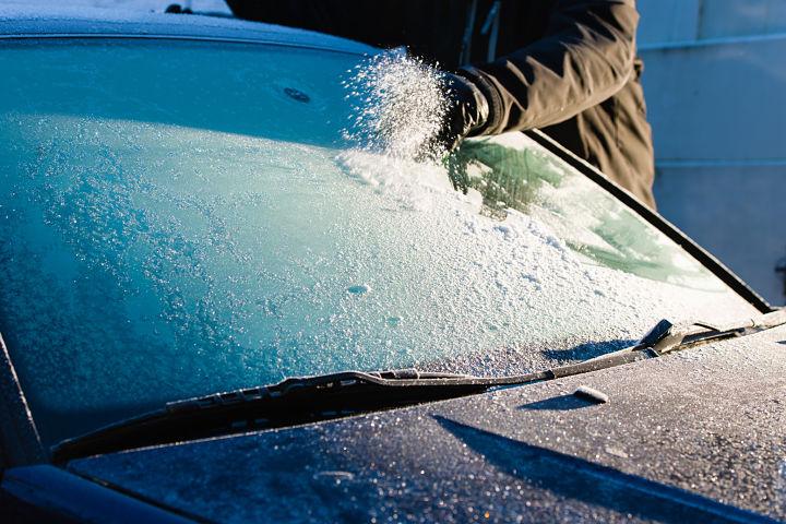 multas parabrisas y cristales del coche