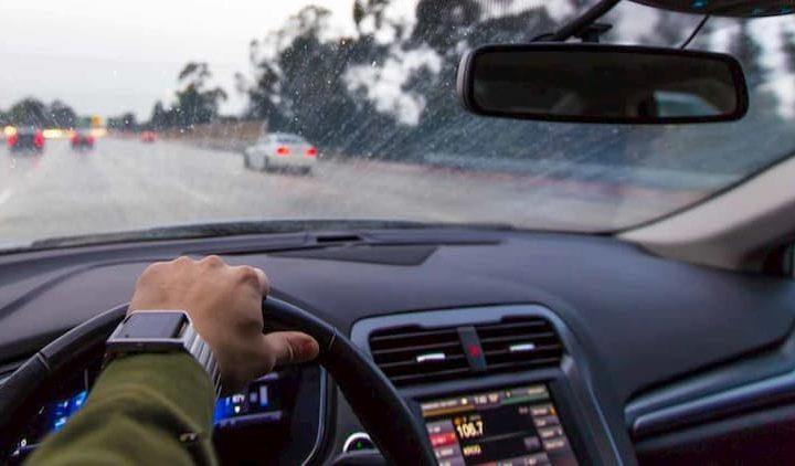 afecta visibilidad con lluvia