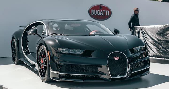 El coche más rápido del mundo.