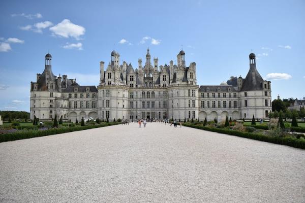 Castillos del Loira: Chambord.