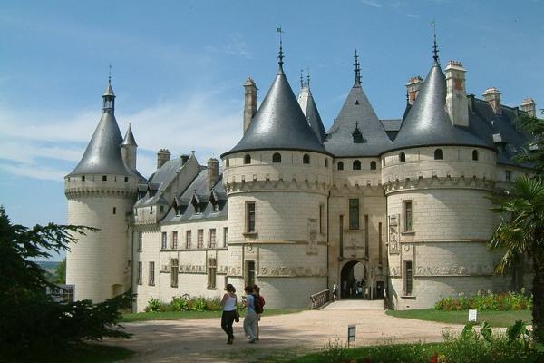 Castillos del Loira: Chaumont.