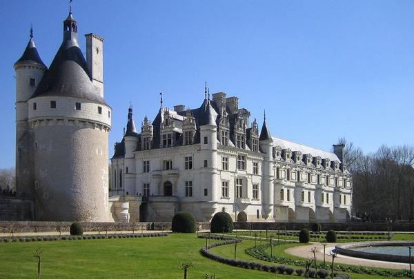Castillos del Loira: Chenonceau.