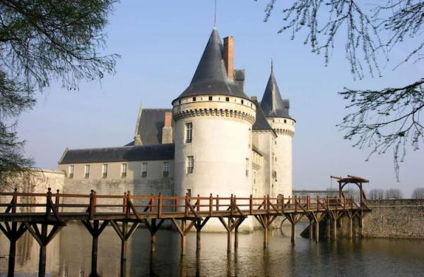 Castillos del Loira: Sully Sur Loire.