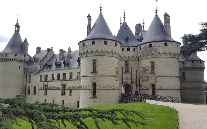 Ruta de los castillos del Loira en coche.