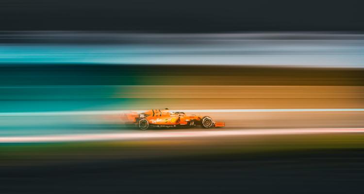 Fórmula 1 con alerón
