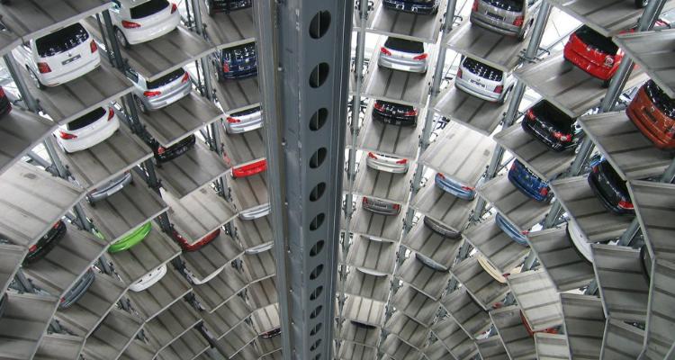 Proceso de fabricación de un coche nuevo